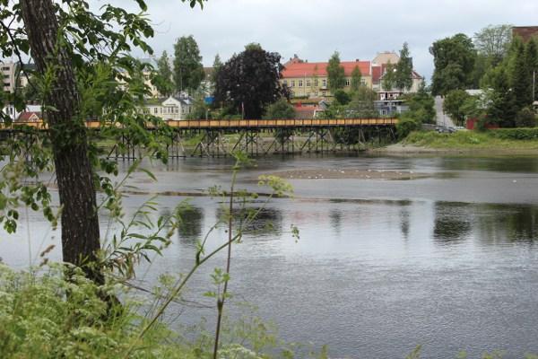 Gangbrua over Nidelva i Trondheim