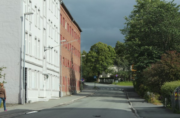 Klostergata på Øya i Trondheim