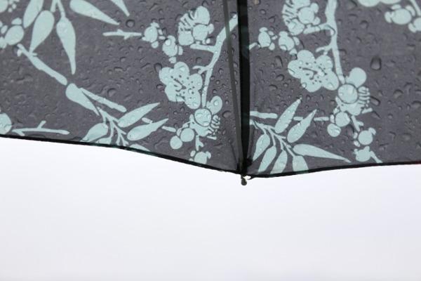 Regndråper på paraply 3